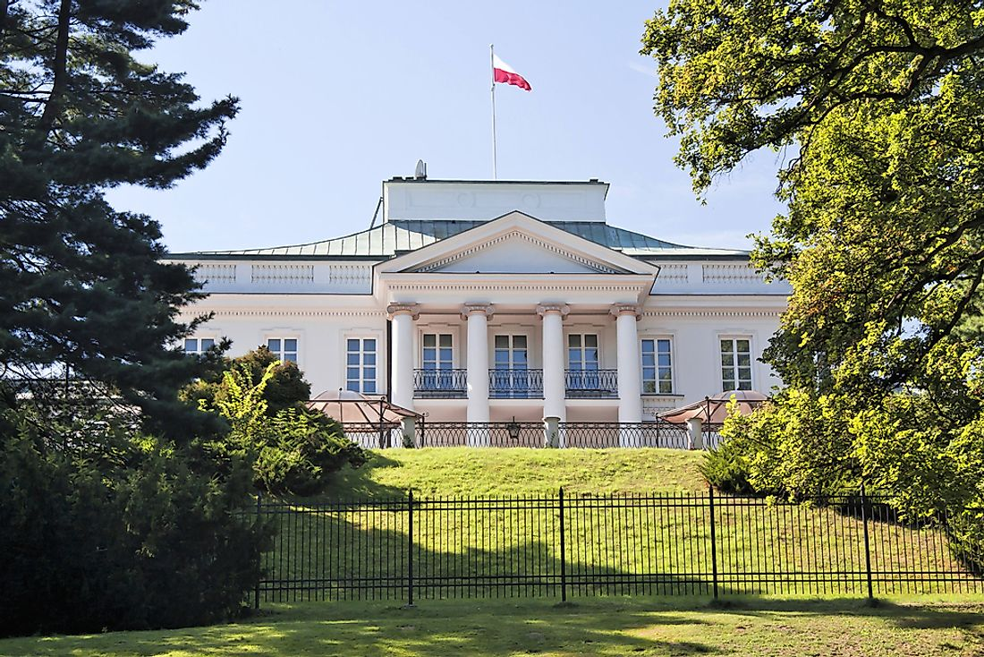 A building of the Polish government.