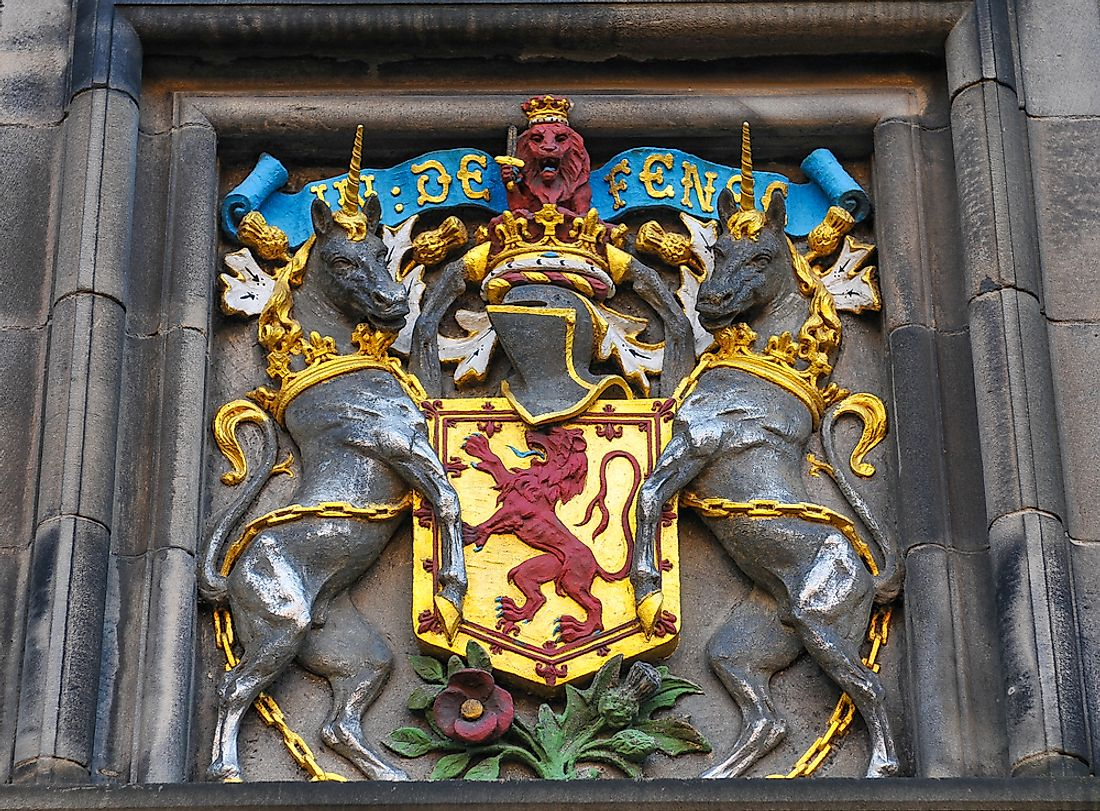 Edinburgh coat of arms, Scotland (UK)