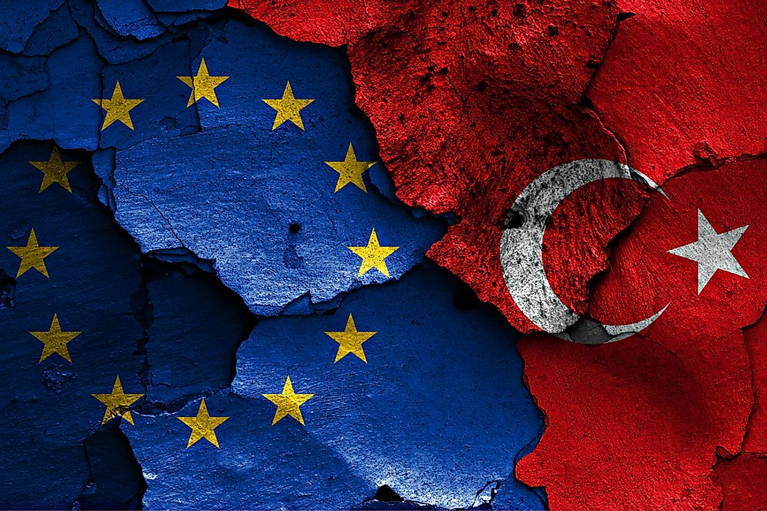 Turkey is not currently part of the European Union.