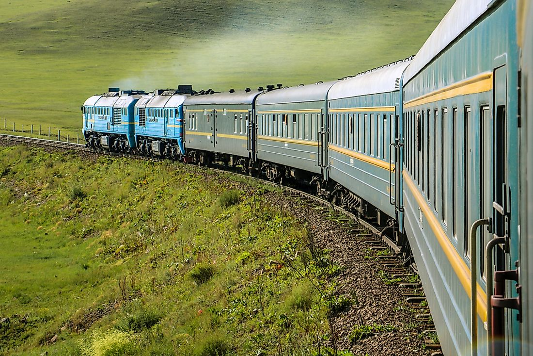 The Trans-Siberian Railways services are popular among tourists to Russia.