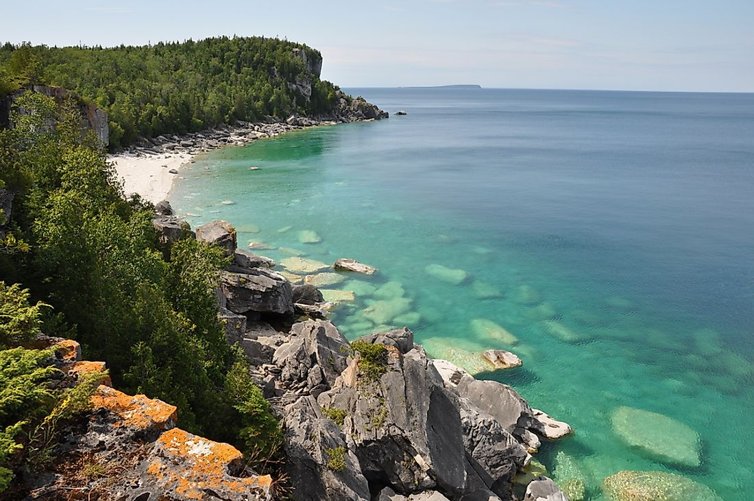 Bruce Peninsula National Park, Ontario.