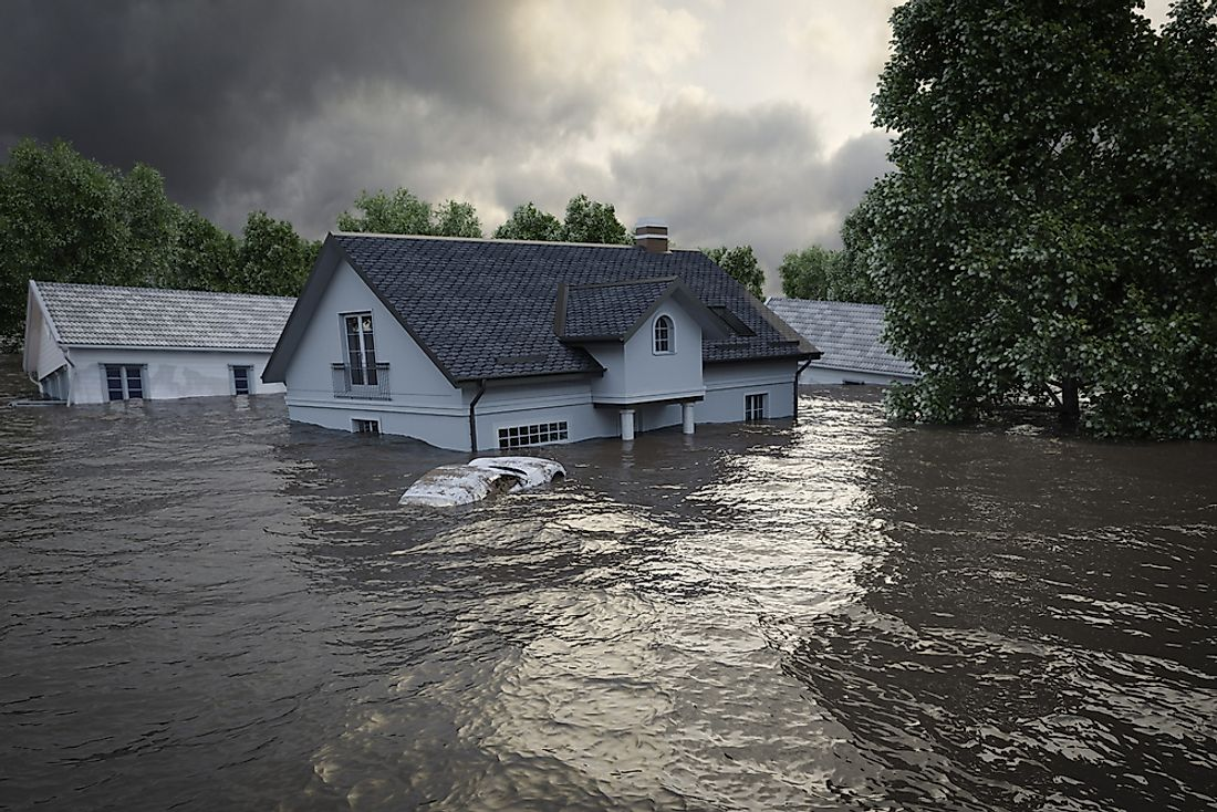 Flooding can cause catastrophic damage and loss of life.