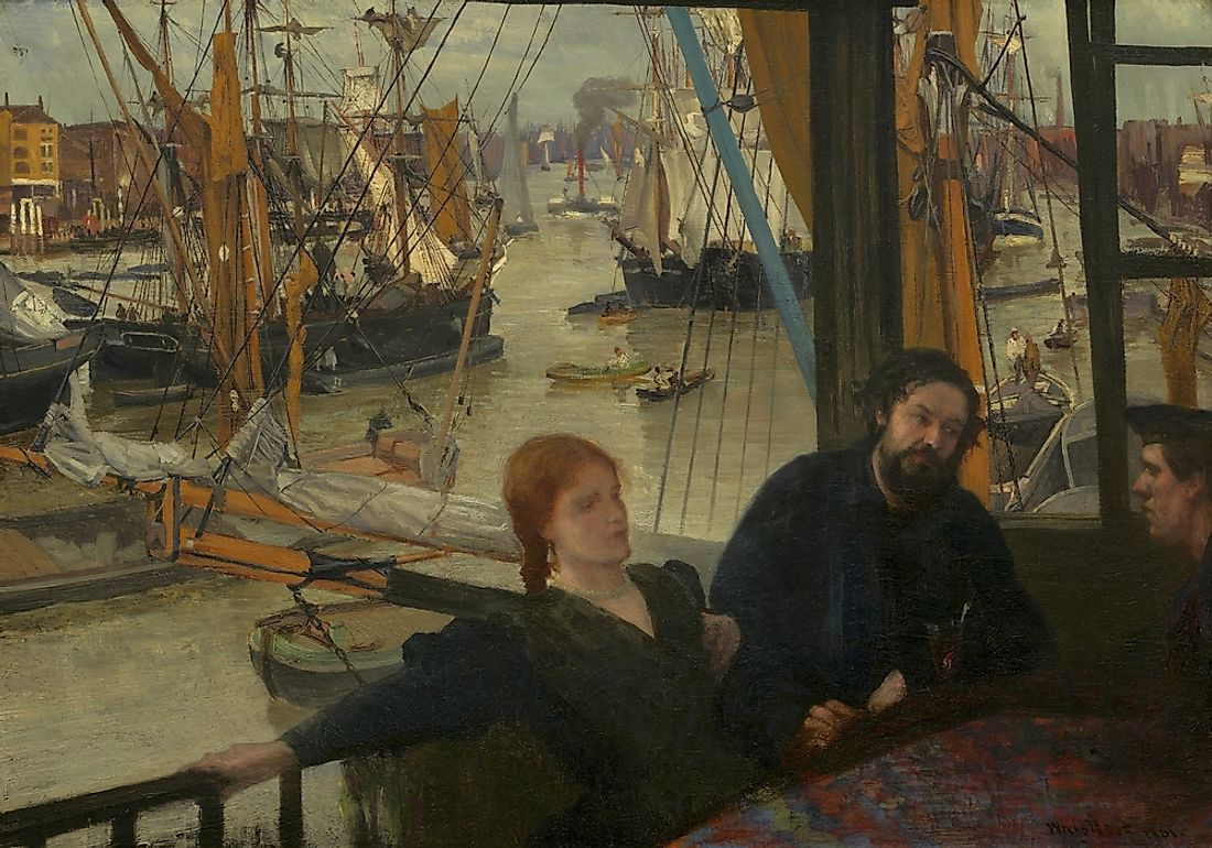 A painting by James McNeill Whistler.