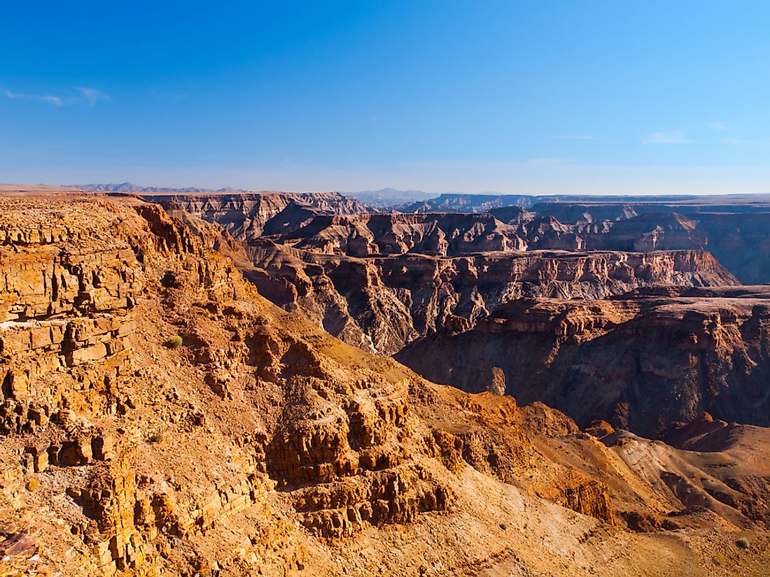 Fish River Canyon, Namibia.