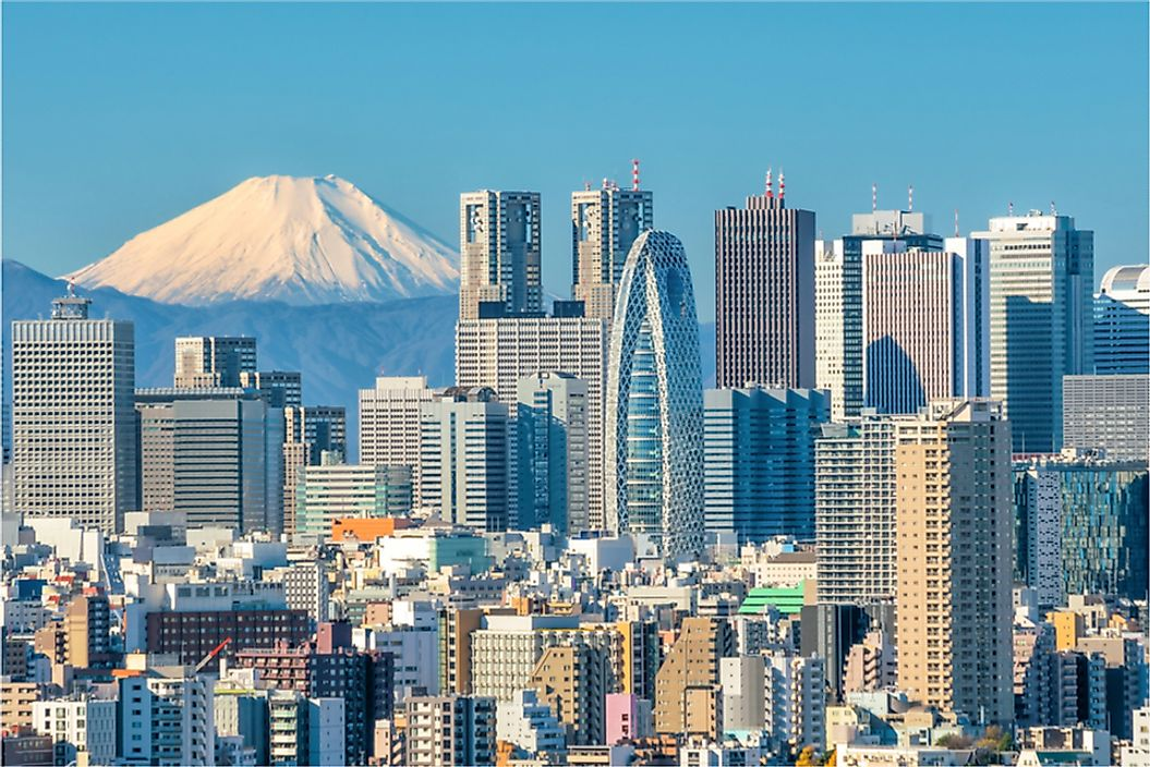 Tokyo is the capital of Japan, the country with the highest life expectancy in Asia and the world.
