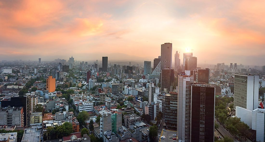 Mexico City is the largest city in North America by population.