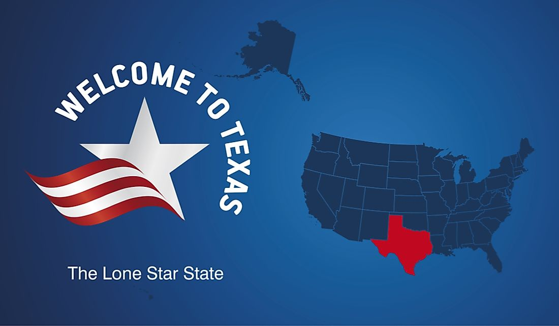 Texas is known as the Lone Star State.