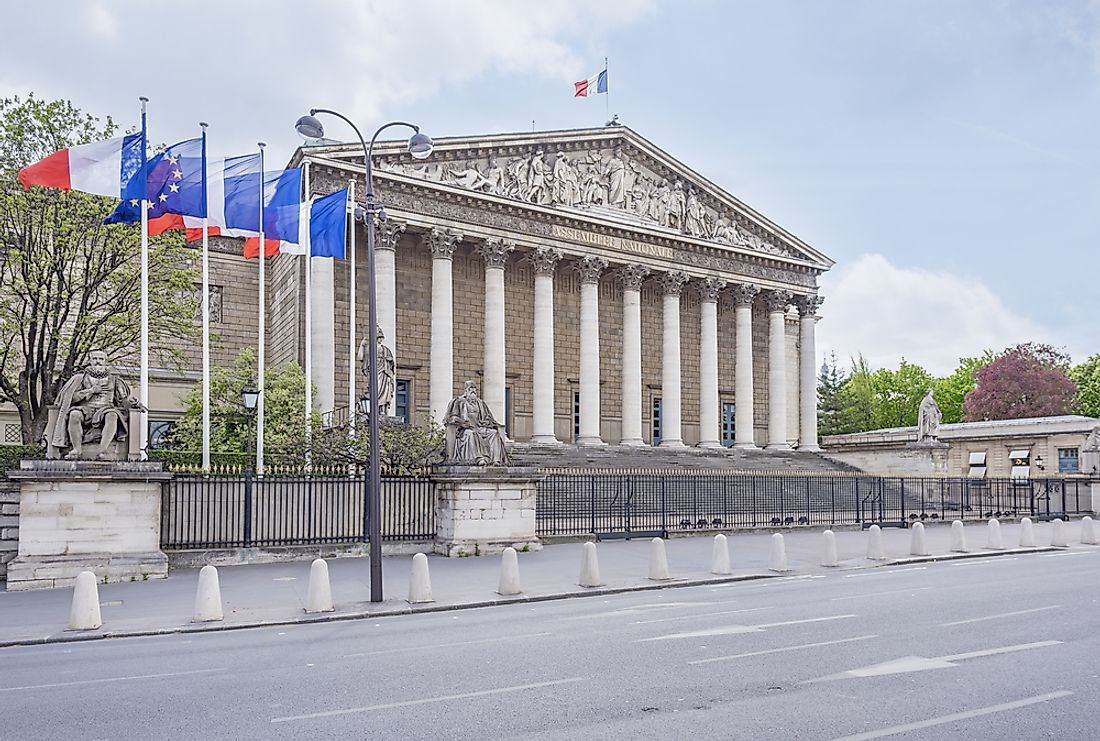 The French National Assembly.