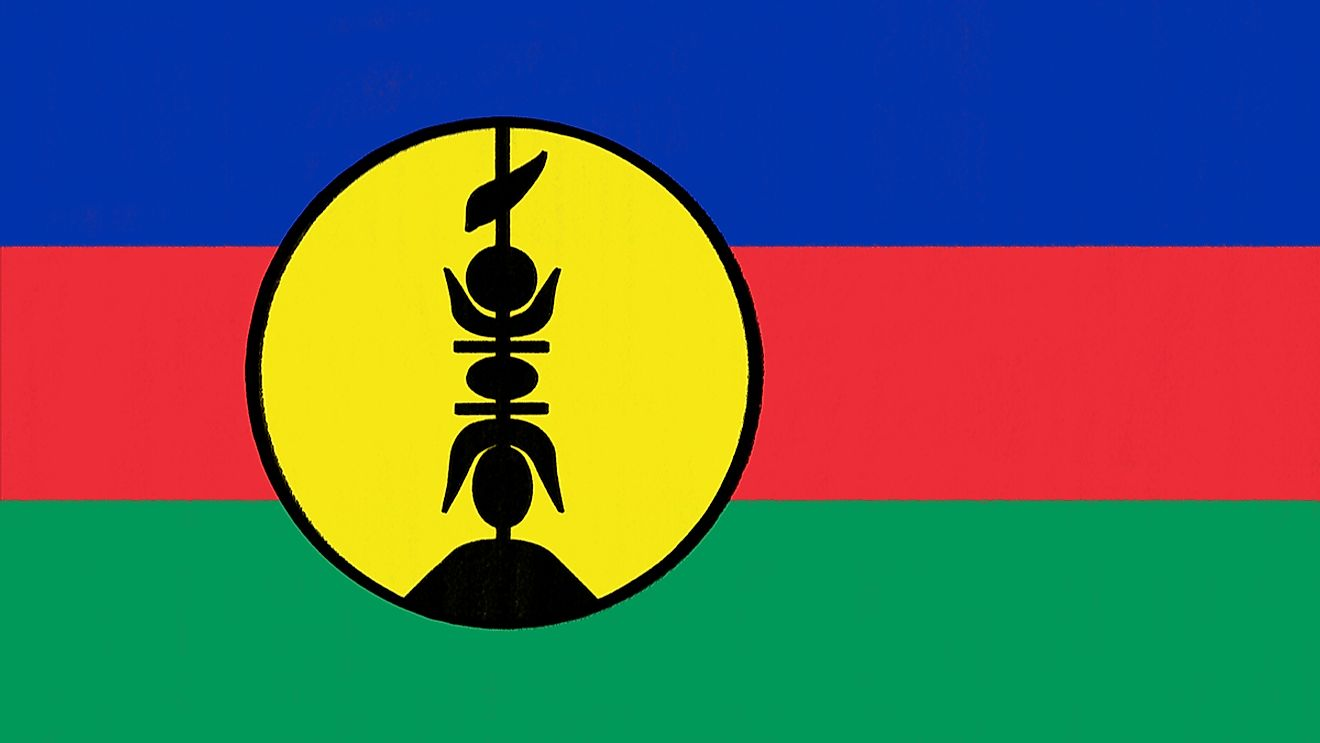 New Caledonia flag. Image credit: SmileStudio/Shutterstock