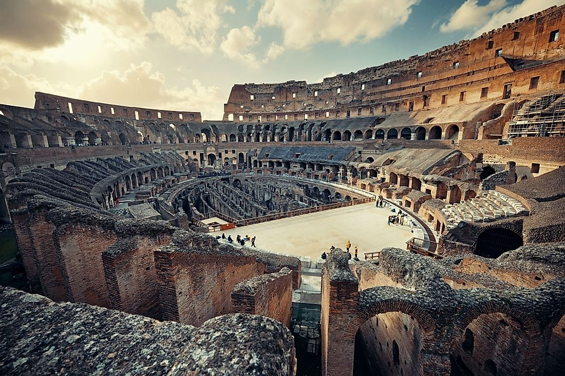 The Colosseum was built as a multi-purpose amphitheater.