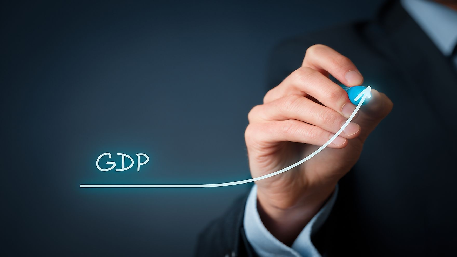 GDP helps measure the health of a state's economy.