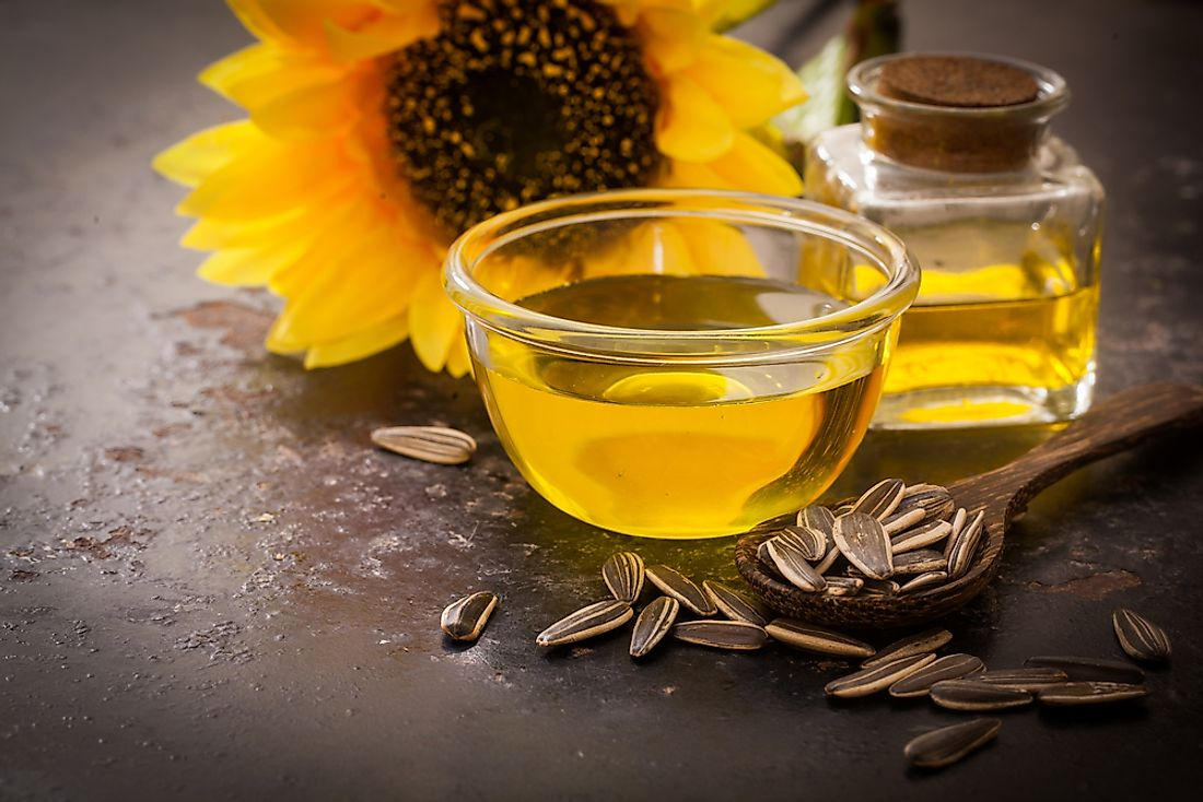 Sunflower oil has a number of practical uses.