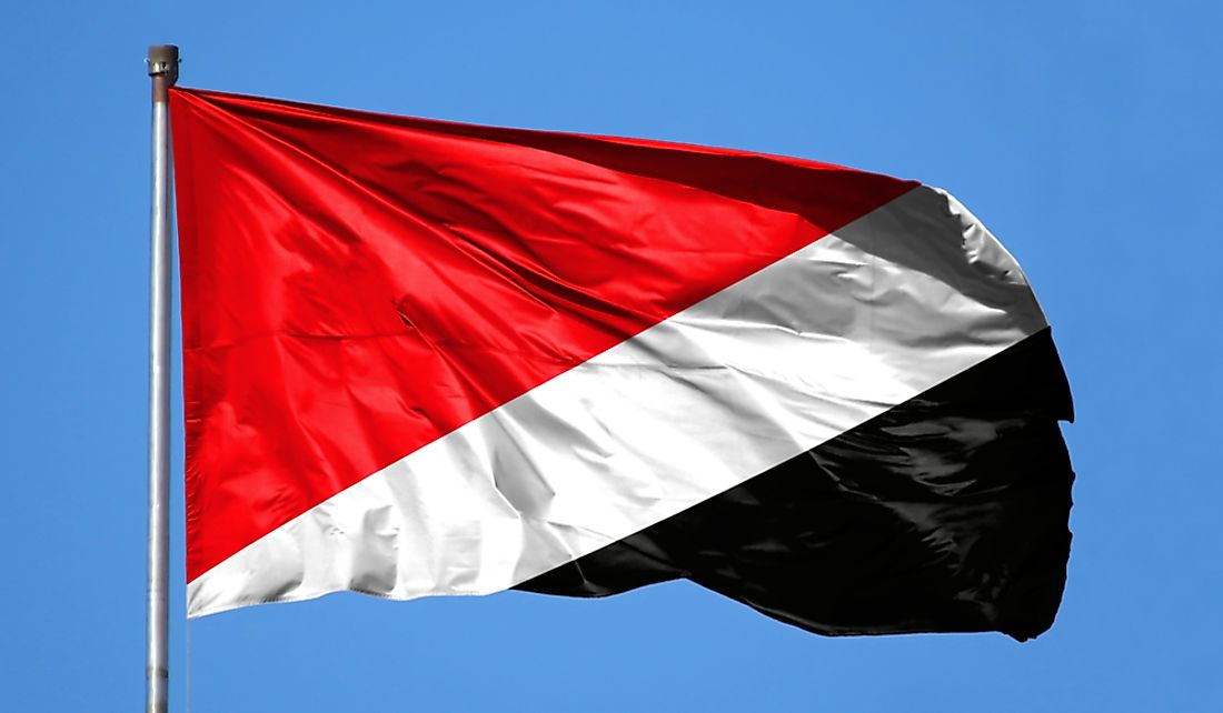 Sealand even has its own flag.