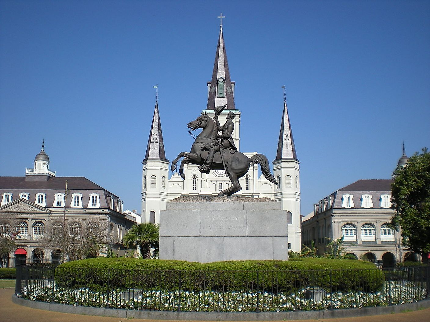 Jackson Square - New Orleans. Image credit: Sami99tr/Wikimedia.org