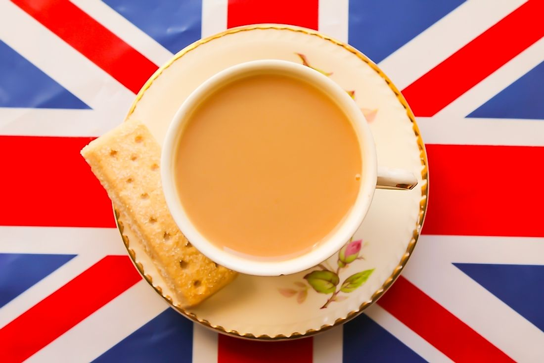 High tea is an integral part of British culture.
