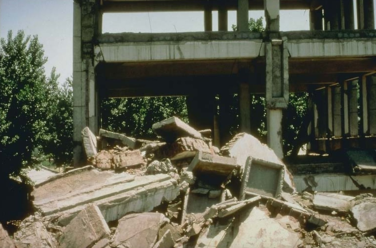 1976 Tangshan earthquake site. Image credit: The National Oceanic and Atmospheric Administration/Public domain