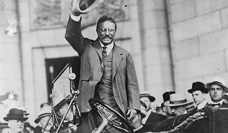 Trust busting policies are often associated with former US President Theodore Roosevelt.