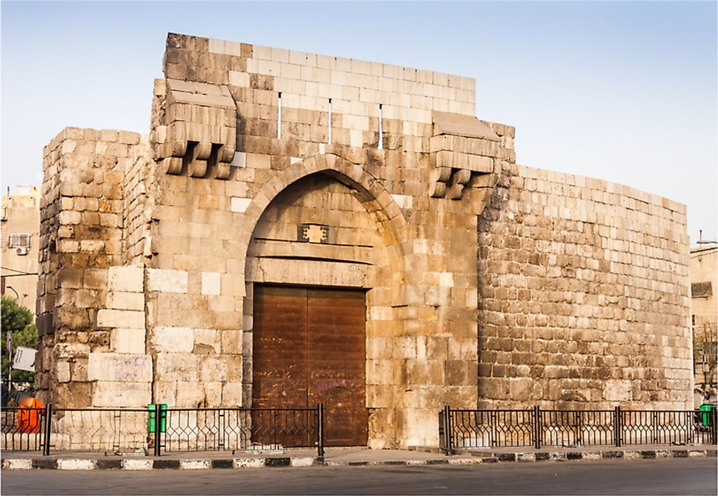 Bab Tuma is one of seven gates in the Old City of Damascus, Syria.