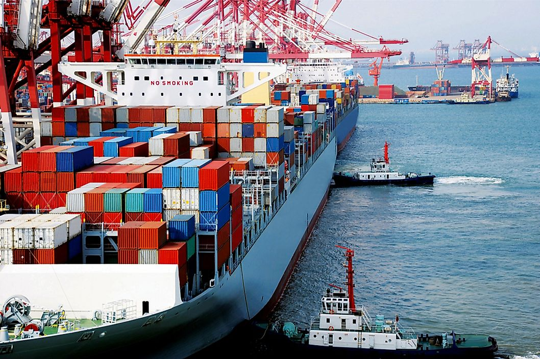 The Largest Container Ship Fleets in the World - WorldAtlas com