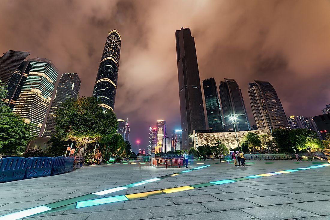 #7 CTF Finance Centre, China - 1739 feet