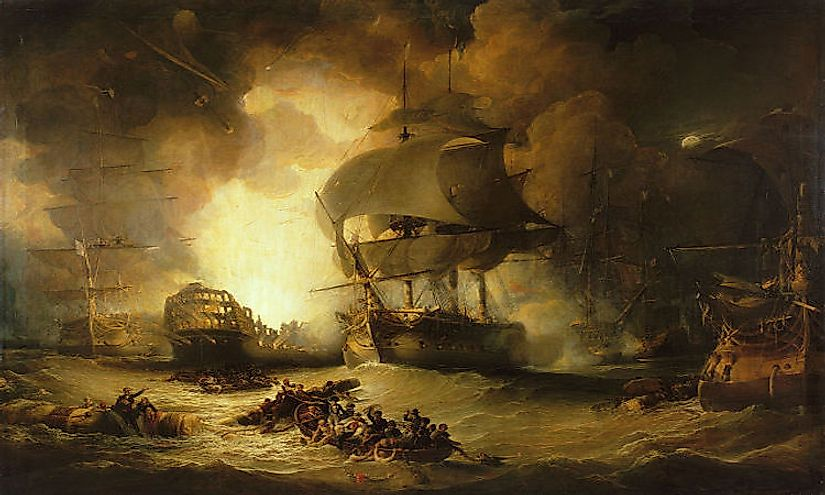 #10 Battle of Aboukir Bay (August of 1798) -