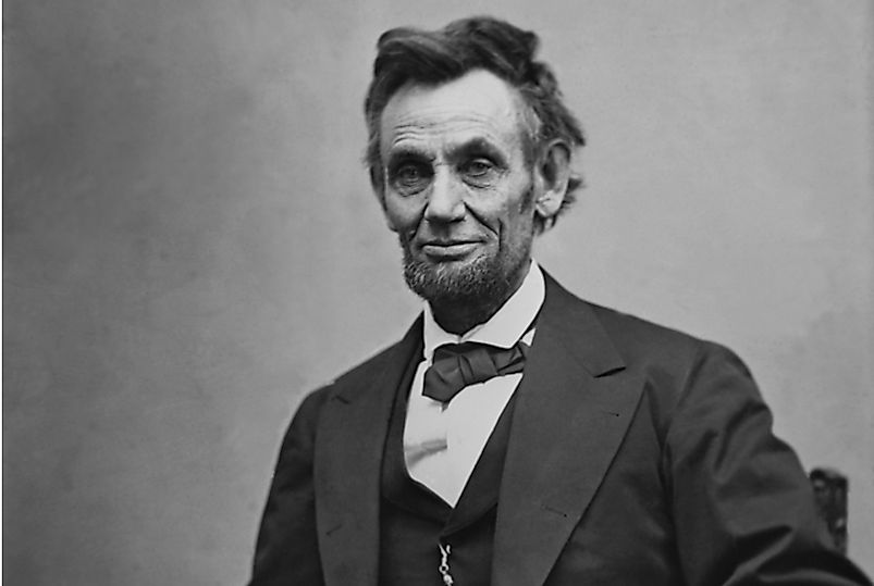 Abraham Lincoln was the Republican-affiliated US President.