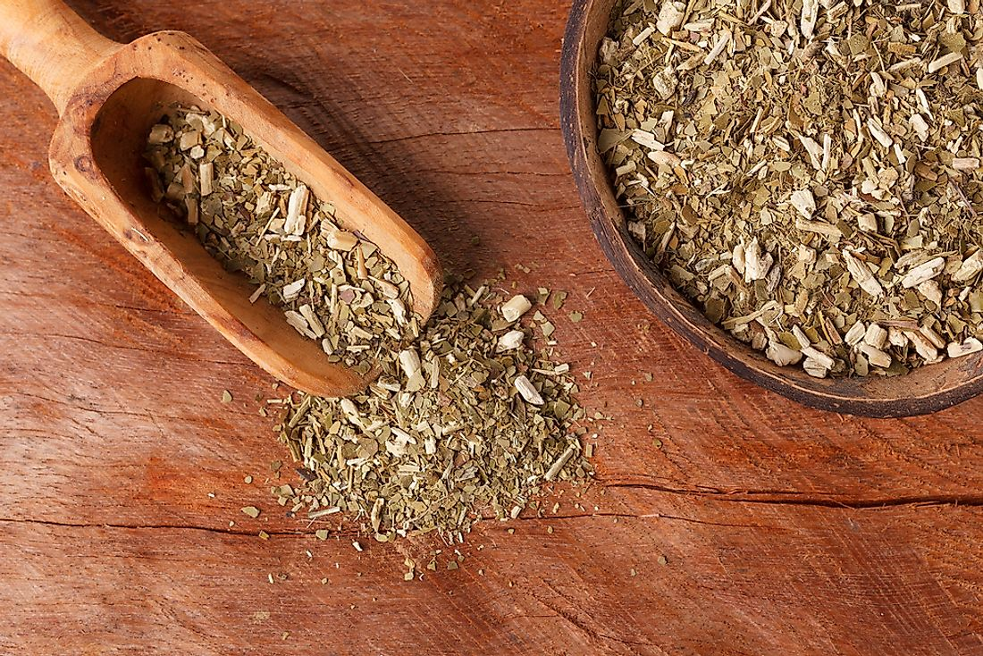 Yerba mate is a type of tea generally grown in South America.