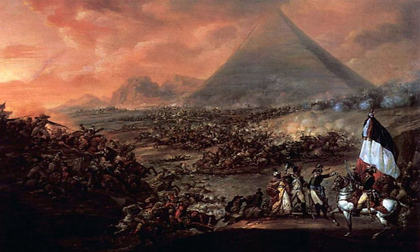 #7 Battle of Embabeh (July of 1798) -