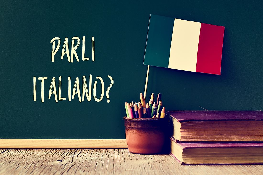 Italian is the official language of Italy.