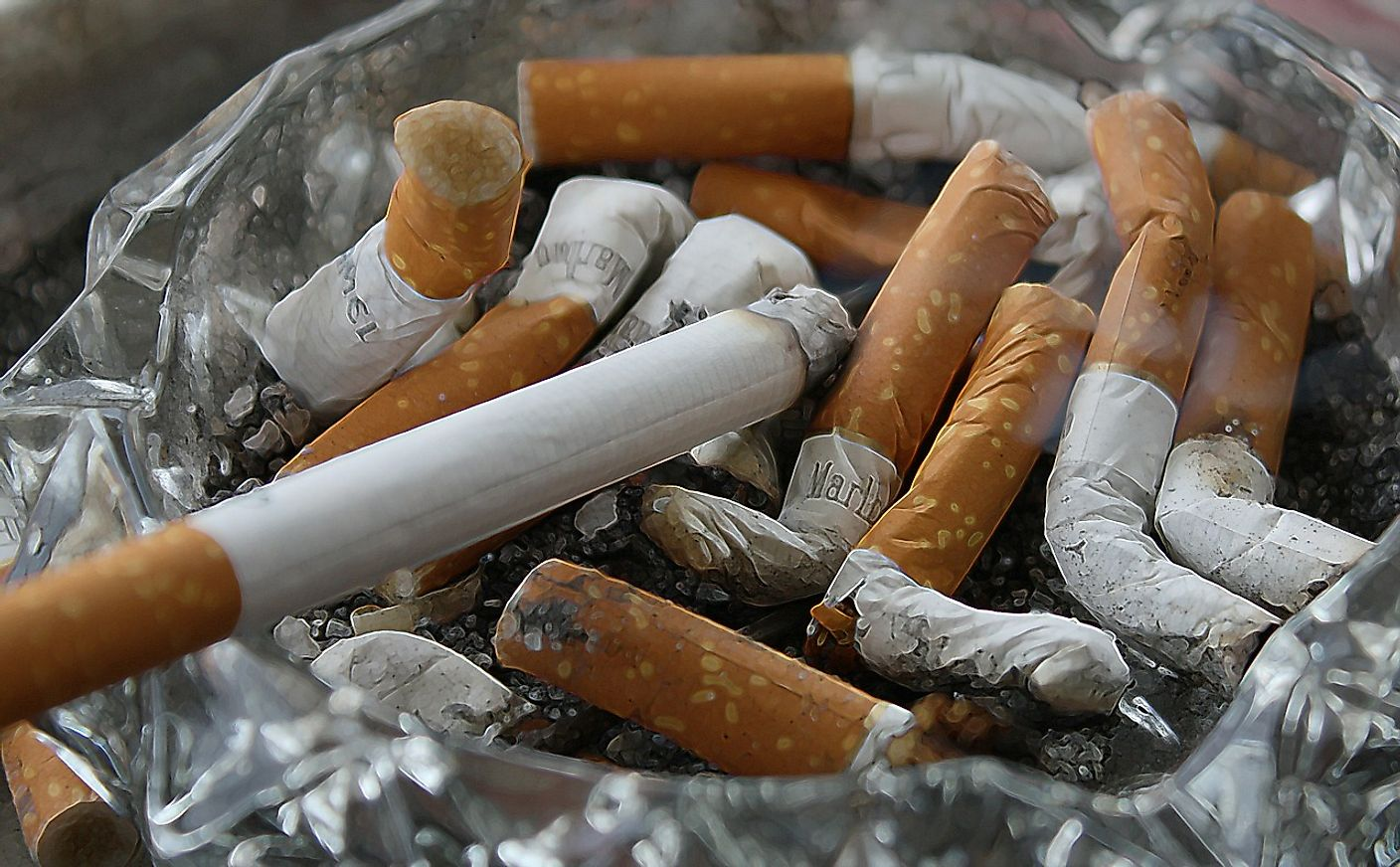 Cigarette smoking is associated with numerous health hazards and thus high taxes are levied on the sale of cigarettes.