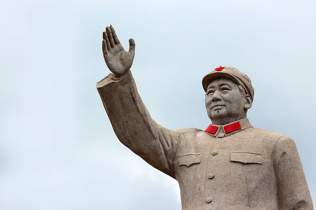 "The ruling of Mao Zedong has been accused of being one of ""despotism"". Photo credit: Andrii Zhezhera / Shutterstock.com."
