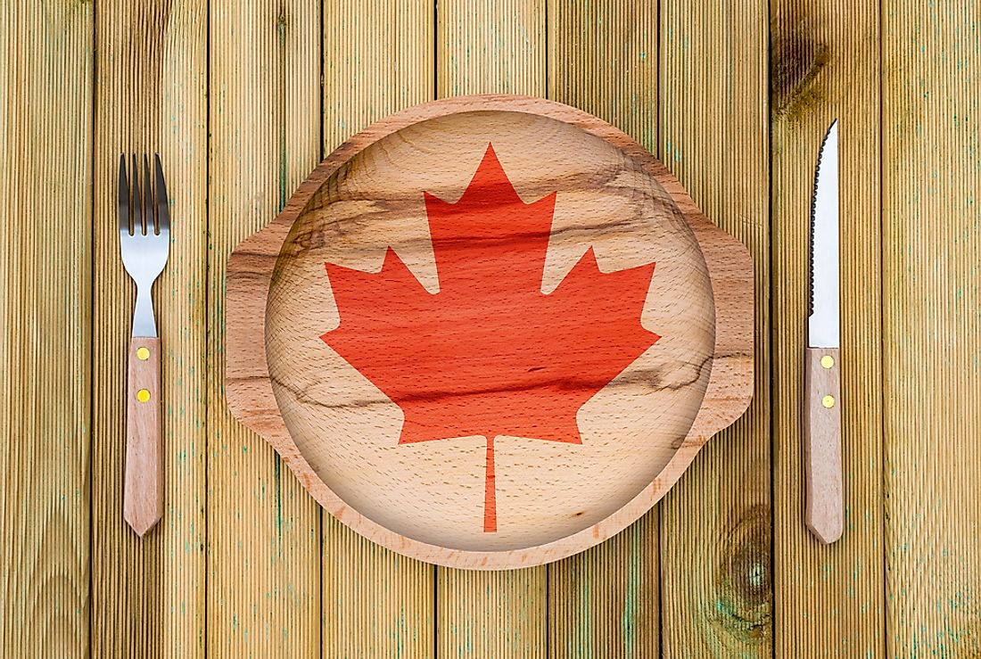 There are some dishes that are distinctively Canadian.