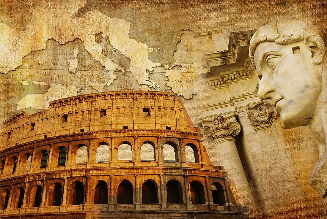 The Roman Empire has had a lasting impact on western civilization.