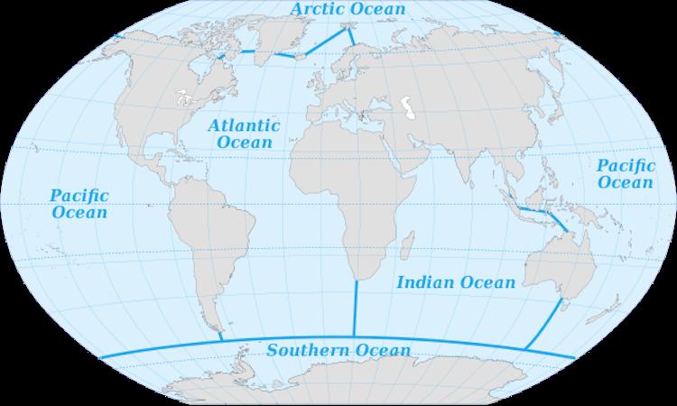 Oceans of the world worldatlas gumiabroncs Gallery