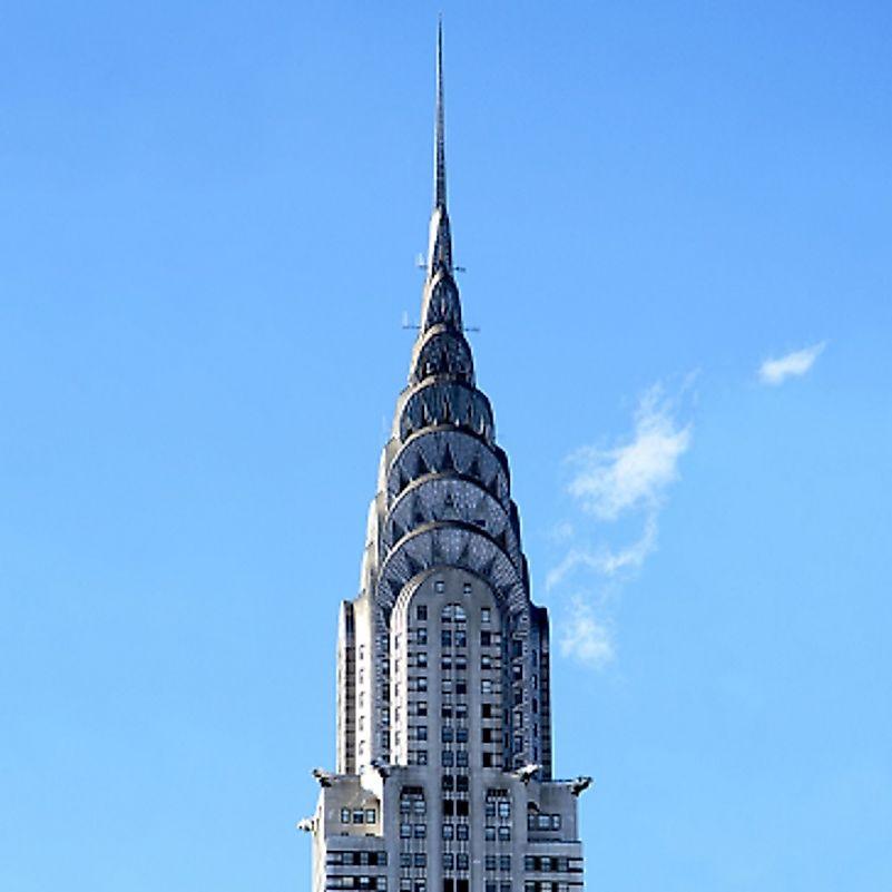 #8 Chrysler Building, New York City - 1,046 Feet