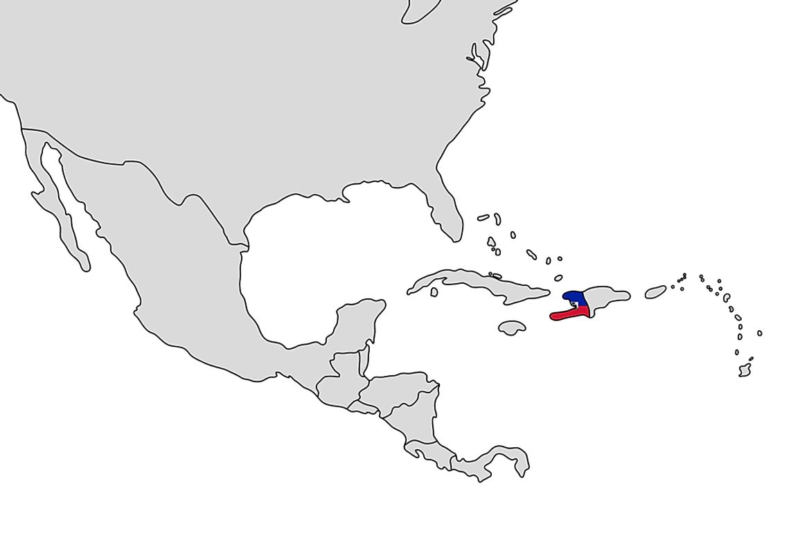 Haiti shares Hispaniola Island with the Dominican Republic.
