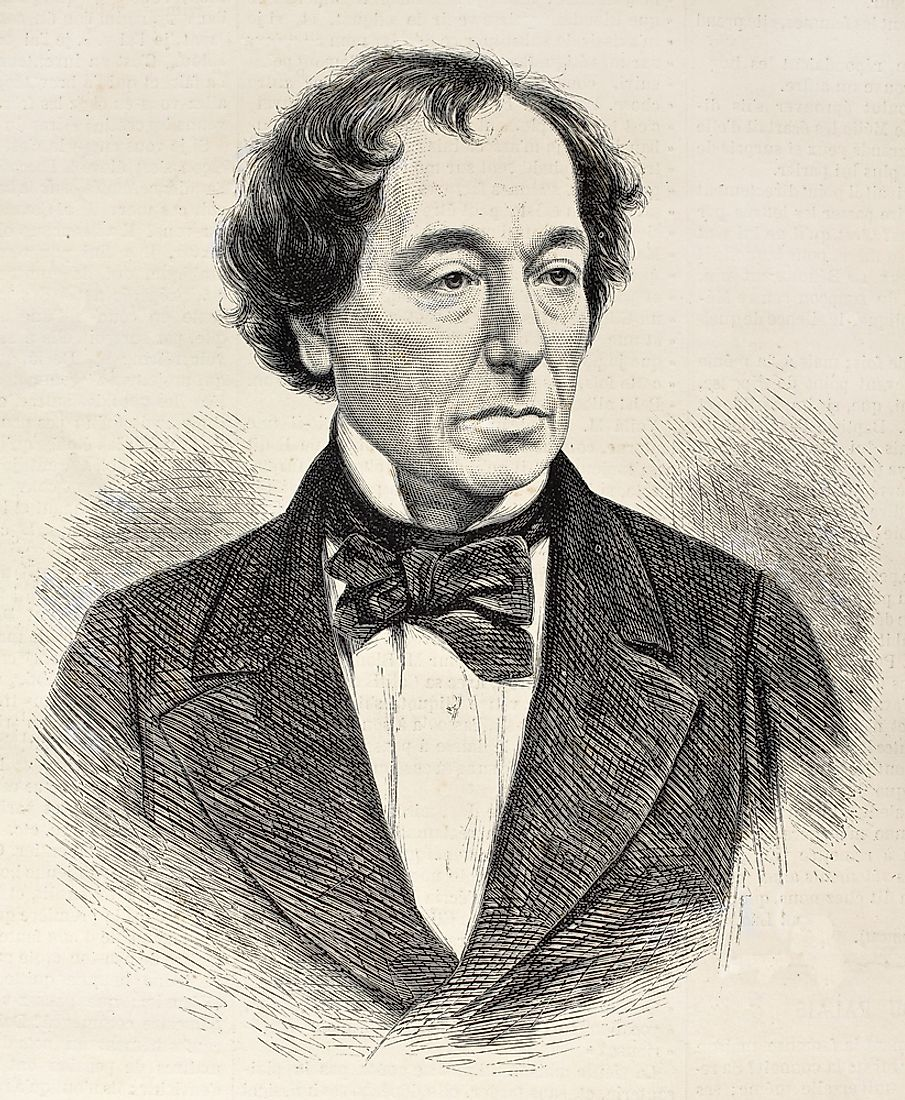 As Prime Minister, Benjamin Disraeli defended the Crown, the Empire, the Church, and British interests around the world.