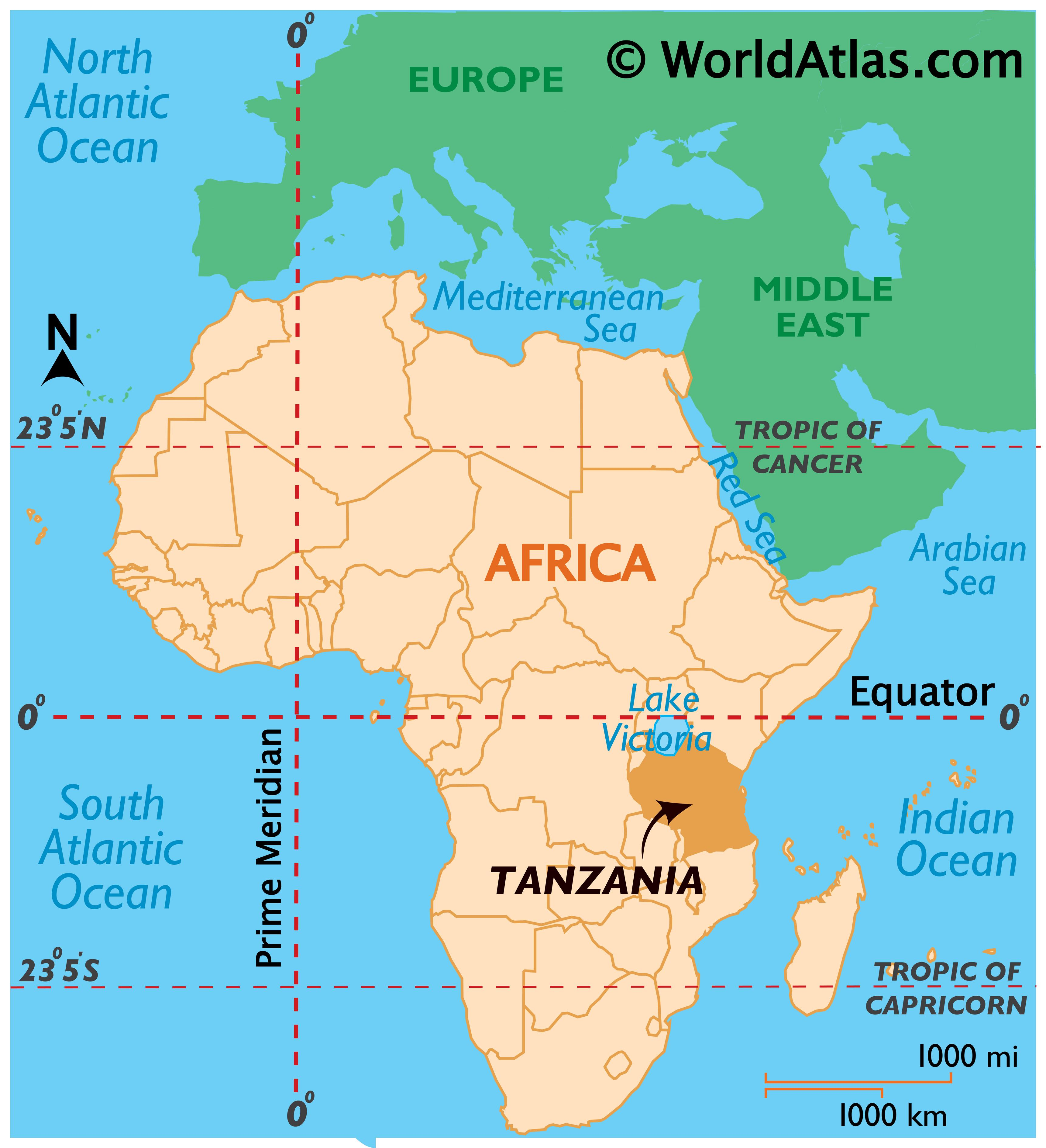 Where Is Tanzania?