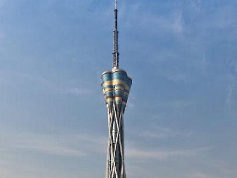 #10 Henan Province Radio & TV Tower, China - 1,273 Feet