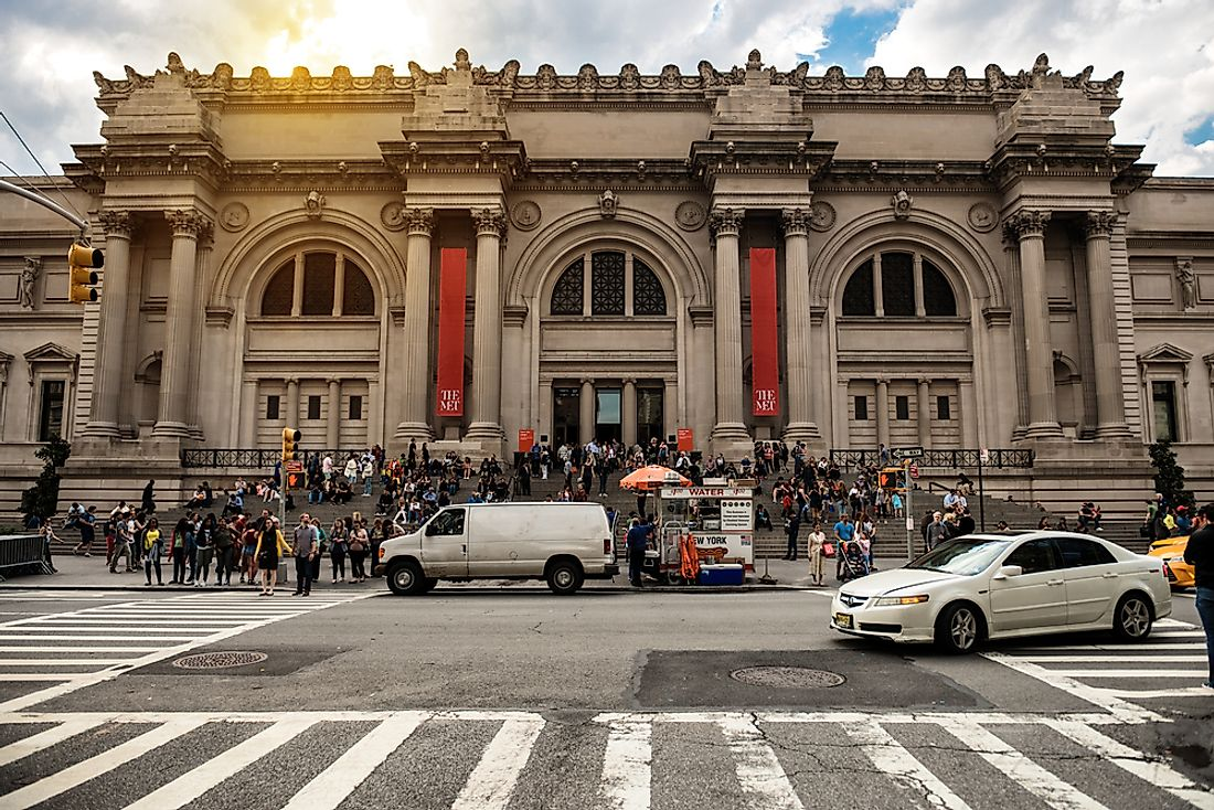 Editorial credit: Nick Starichenko / Shutterstock.com. The Metropolitan Museum of Art in New York.