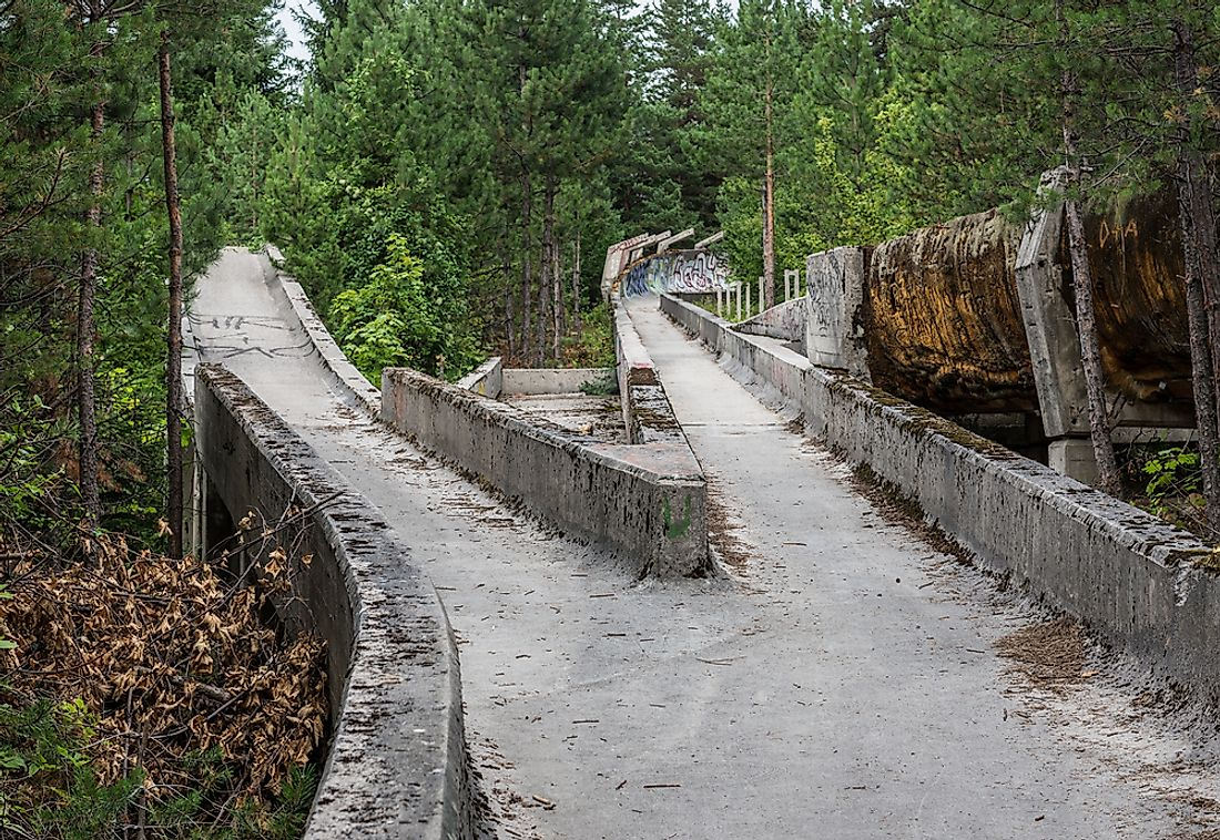 #6 Olympic Bobsleigh and Luge Track - Bosnia and Herzegovina