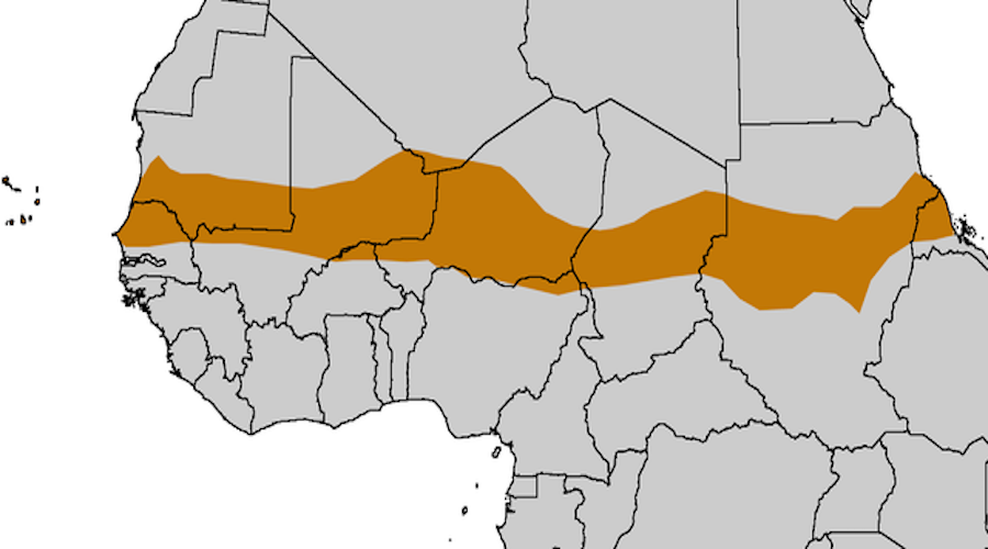 sahel map of africa Where Is The Sahel Region Of Africa Worldatlas