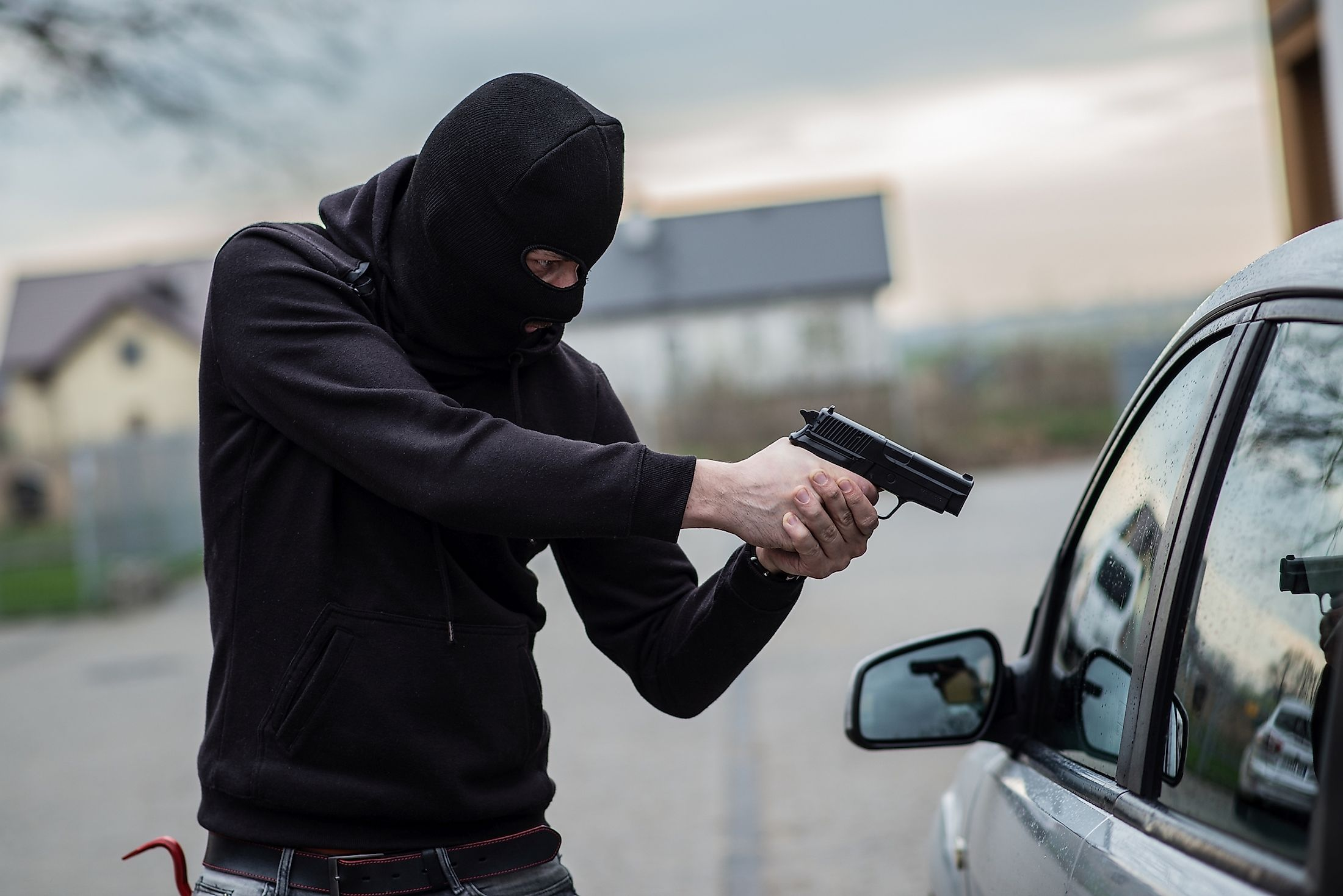 Carjacking is a common theft in many of the world's most dangerous cities.
