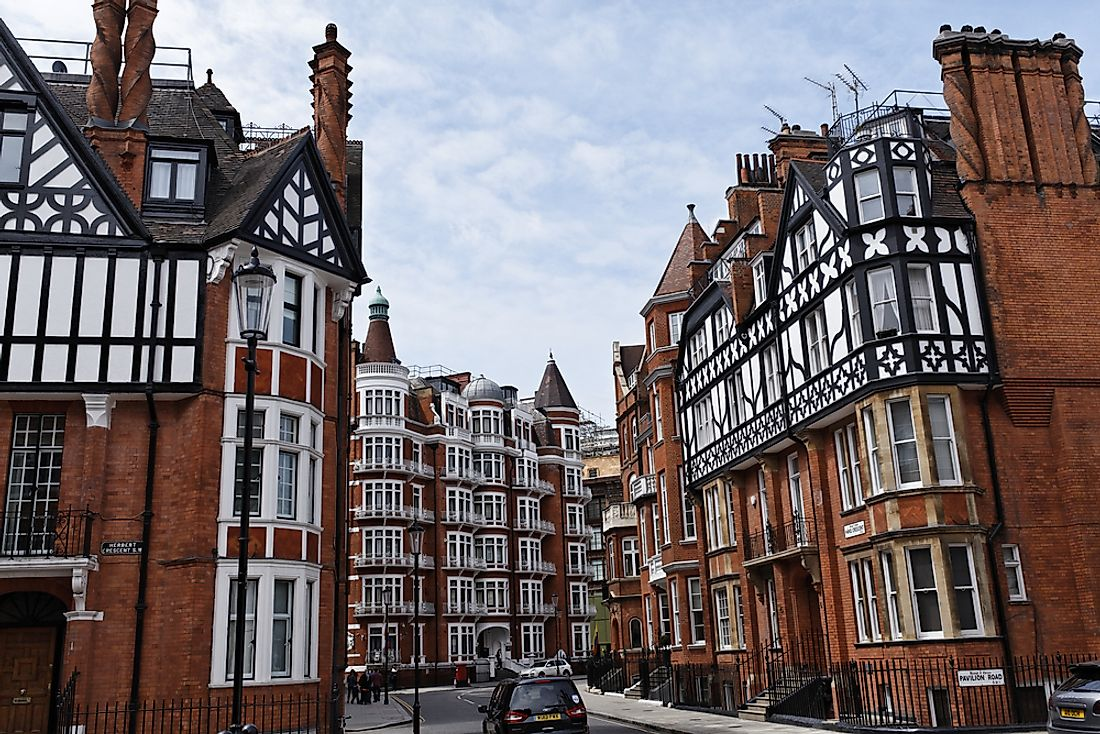 Editorial credit: Cedric Weber / Shutterstock.com. Some of the streets in London feature homes with staggering price tags.
