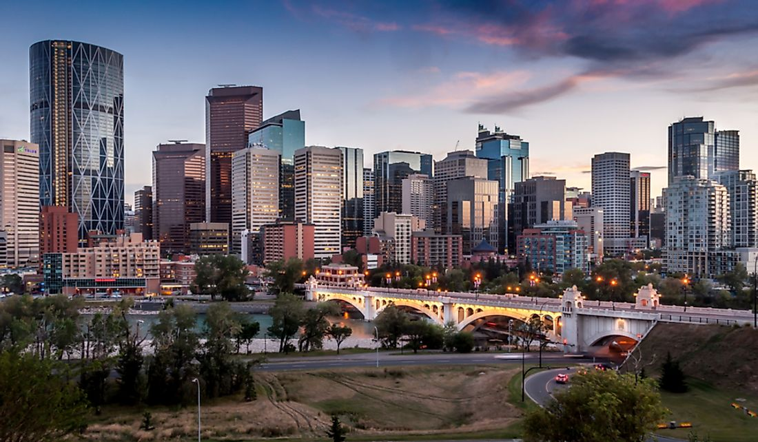 Calgary is ranked as one of the best cities to live in the world.