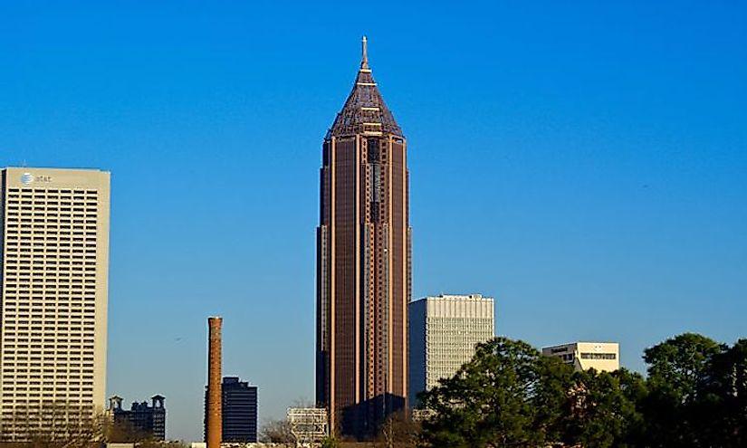 tallest buildings in atlanta worldatlas com
