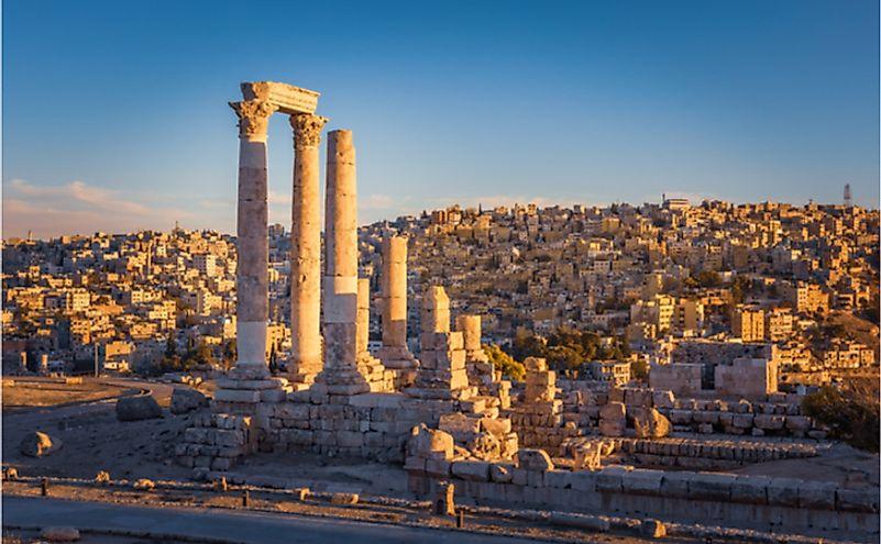 The Temple of Hercules, Amman Citadel, Amman, Jordan