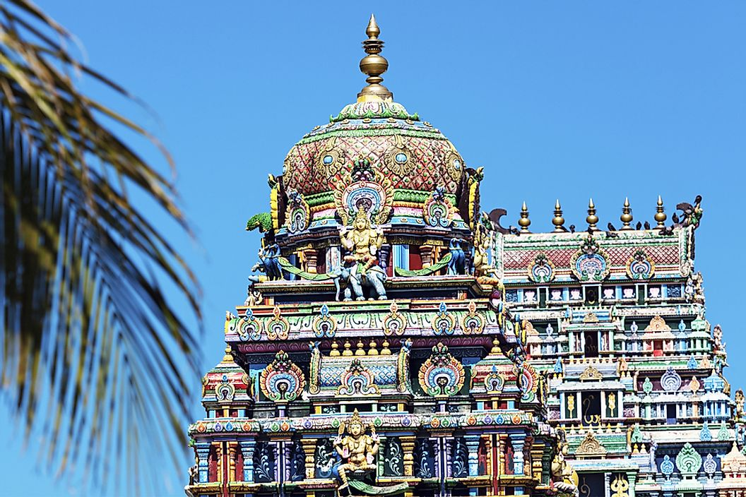 Although Christianity is the most widely practiced religion in Fiji, there are many large and beautiful Hindu temples.
