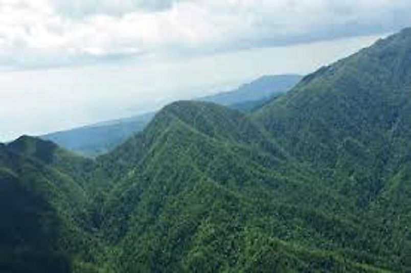 Scenic views in Jamaica's Blue and John Crow Mountains.