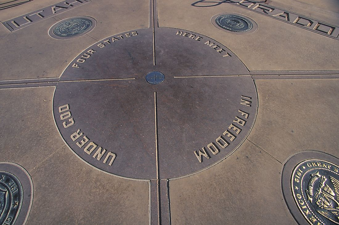 The Four Corners monument.
